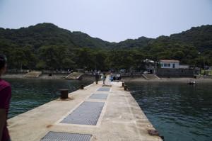 友ヶ島到着