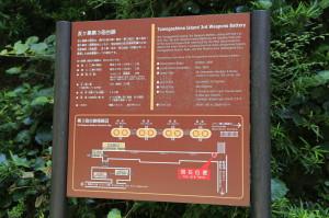 第3砲台跡説明