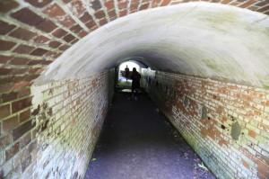 第3砲台跡砲座間トンネル