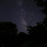 銀河もみじキャンプ場の星空3