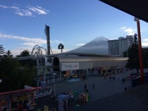 FUJIYAMAから見える富士山