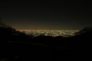 十三峠 夜景②