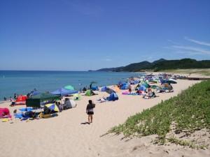 琴引浜 海岸