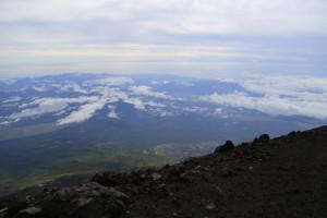 富士山 下山1