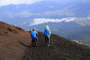 富士山 下山2