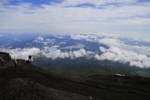 富士山 下山4