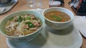 肉丼&豚汁
