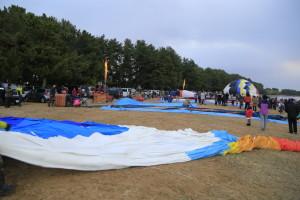 熱気球組立